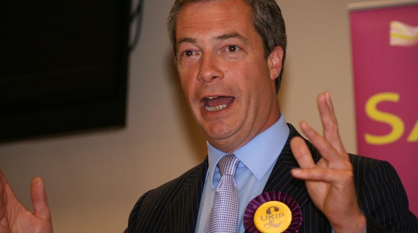 Φάρατζ: «Τολμώ να ονειρεύομαι ένα ανεξάρτητο Ηνωμένο Βασίλειο»