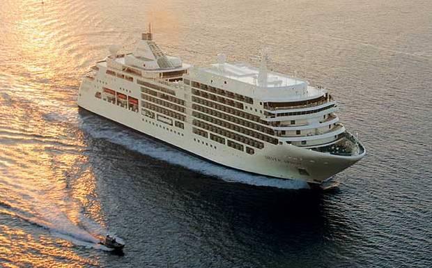 Στο Λιμάνι του Βόλου το «Silver Spirit»