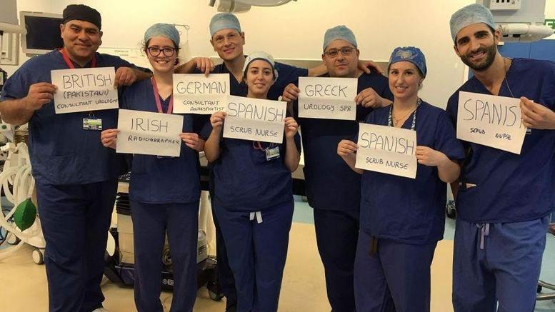 Μετανάστες γιατροί στην Αγγλία: Εμείς είμαστε η Ευρώπη