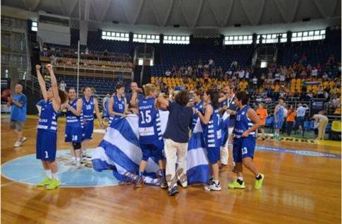 Στην κορυφή της Ευρώπης η Εθνική κωφών γυναικών μπάσκετ