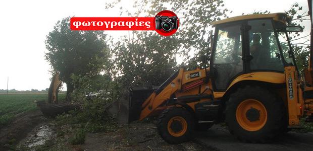 Νέο καταστροφικό μπουρίνι προκάλεσε ζημιές στην επαρχία Φαρσάλων