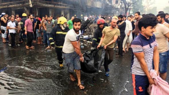 Μακελειό της ISIS στη Βαγδάτη, στους 125 οι νεκροί