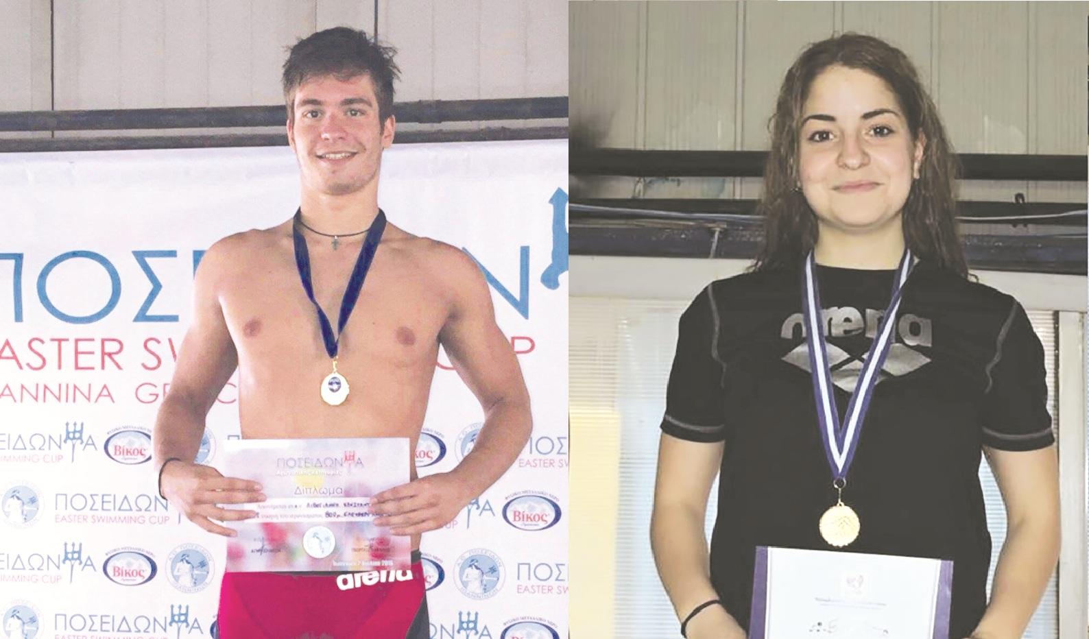 Επιτυχίες για Λιβογιάννη  και Απλαντή στην κολύμβηση