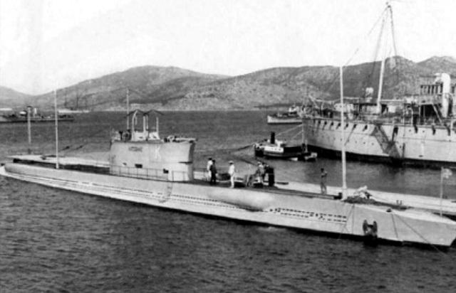 Βρέθηκε το υποβρύχιο Κατσώνης που βυθίστηκε το '43 στη Σκιάθο