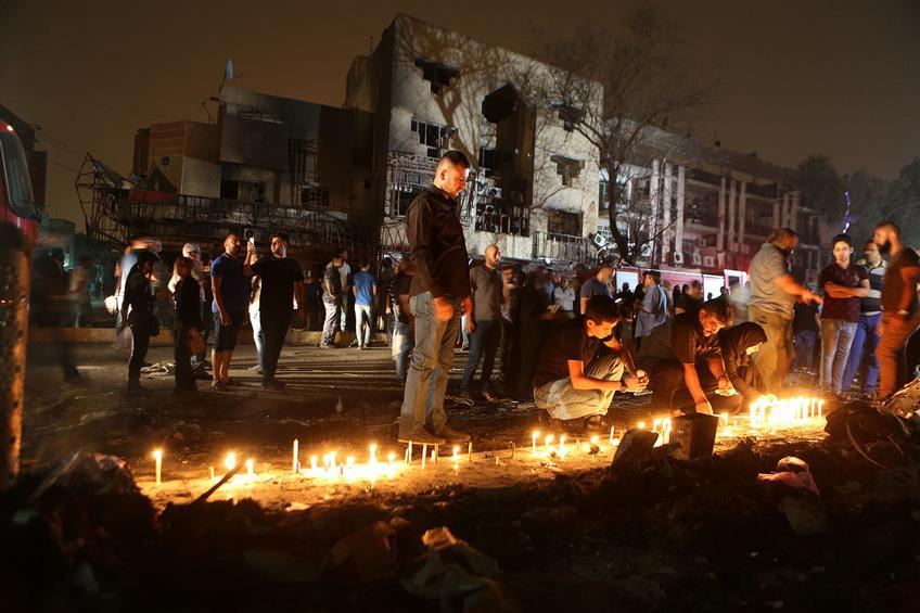 Ιράκ: σε 292 ανέρχονται οι νεκροί από την τρομοκρατική επίθεση