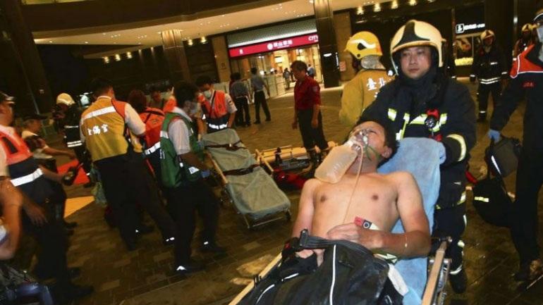 Ταϊβάν: Βόμβα σε τρένο με 25 τραυματίες