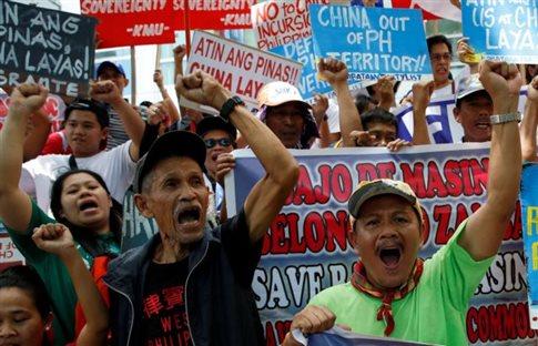 Η Κίνα απορρίπτει εκ των προτέρων την ετυμηγορία για τη Νότια Σινική Θάλασσα