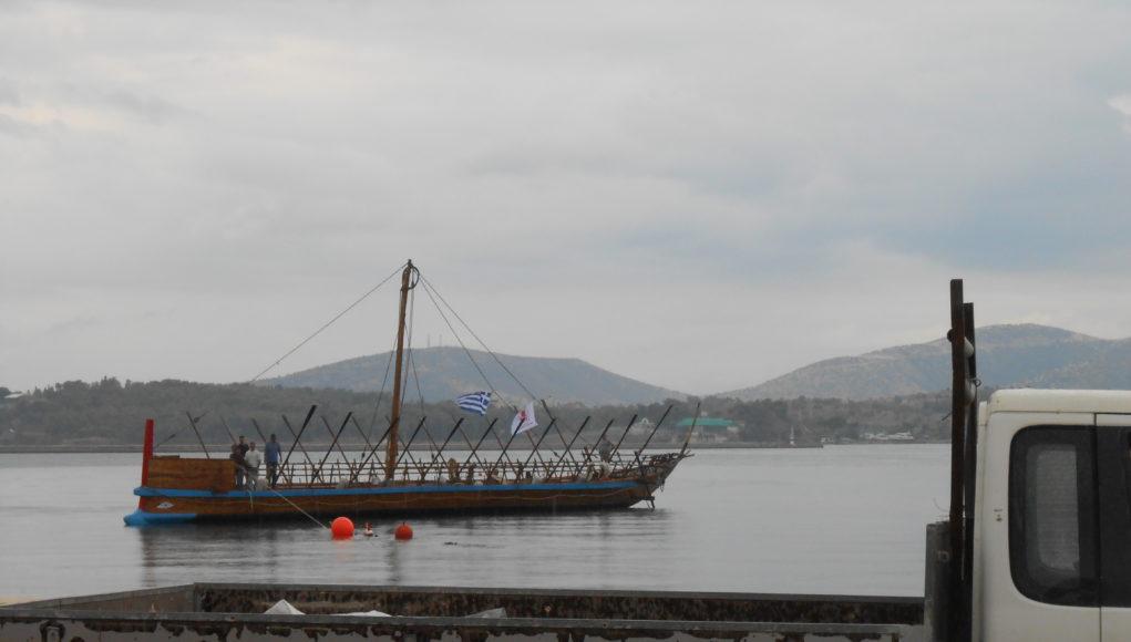 Στο λιμάνι και πάλι η Αργώ