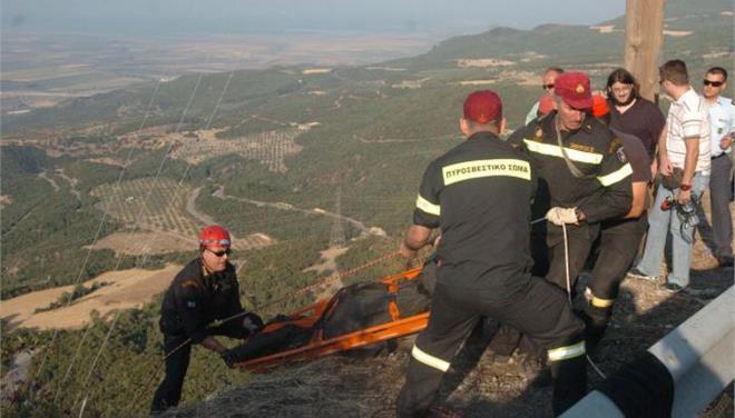 Νεκρός 55χρονος μετά από πτώση του σε χαράδρα στο Μέτσοβο
