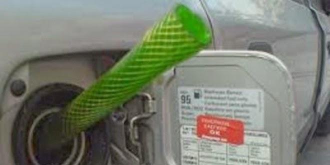 Επιχείρησε να κλέψει βενζίνη από ΙΧ