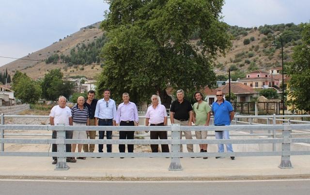 Νέα γέφυρα και αντιπλημμυρικά έργα στο Δαμάσι Τυρνάβου