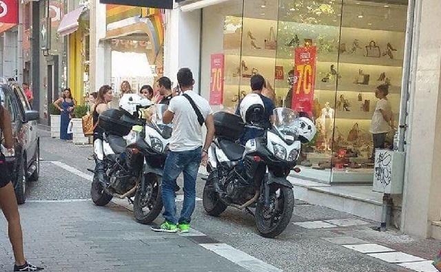Εμποροι κυνηγούσαν στο κέντρο της Λάρισας γυναίκα που έκλεβε καταστήματα