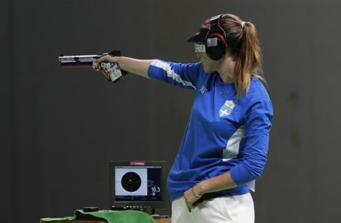 Σκοποβολή (πιστόλι 25μ.): Στον ημιτελικό με πολλές ελπίδες η Κορακάκη