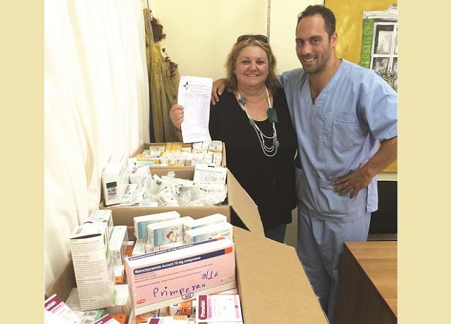 Δωρεά φαρμάκων στο Κέντρο Υγείας Σκιάθου
