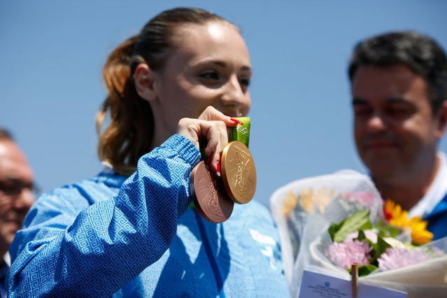 Η Ελλάδα υποδέχθηκε το χρυσό κορίτσι της