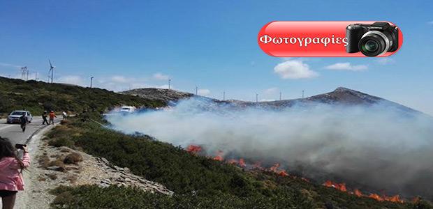 Εκκενώθηκε ο οικισμός Πόρτο Λάφια στην Κάρυστο - μαίνεται η πυρκαγιά