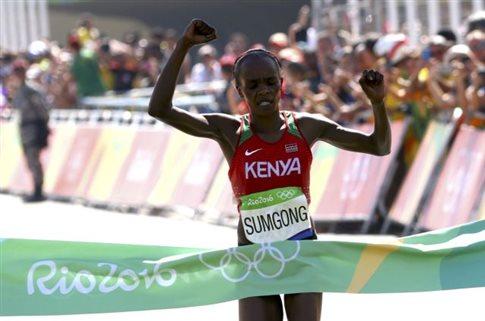 Μαραθώνιος: Η Κένυα το χρυσό, Ρεμπούλη η πιο γρήγορη Ελληνίδα