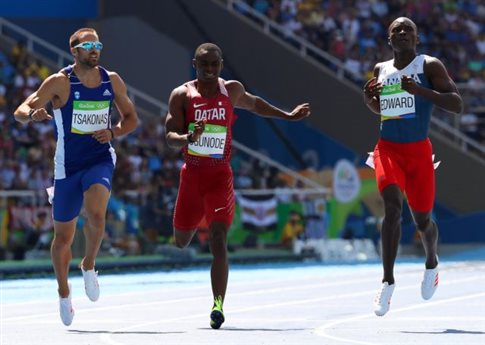 Στα ημιτελικά των 200μ. προκρίθηκε ο Λυκούργος Τσάκωνας