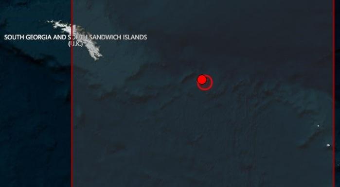 Ισχυρός σεισμός 7,4R στο νότιο τμήμα του Ατλαντικού