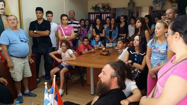 Επίσκεψη της Παιδικής Χορωδίας Φιλιππιάδας στο Βελεστίνο