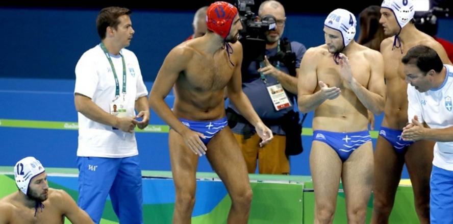 Πόλο: Τερμάτισε έκτη θέση η Εθνική Ανδρών στο Ρίο