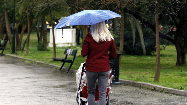 Αστατος ο καιρός με βροχές και χαλάζι