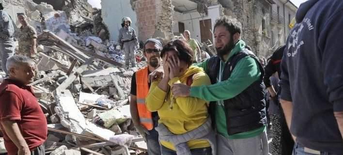 Δραματικές ώρες στην Ιταλία. 247 νεκροί από το φονικό σεισμό, 400 τραυματίες
