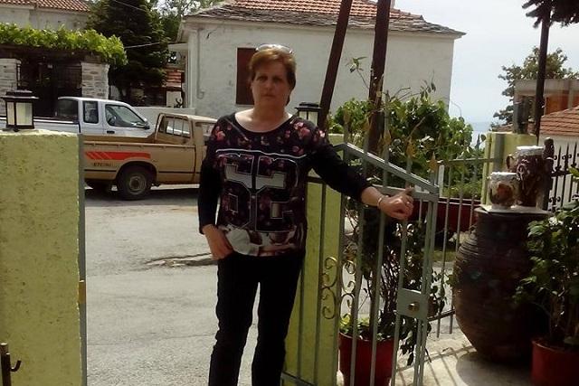 Εφυγε ξαφνικά από τσίμπημα σφήγκας η 52χρονη Γεωργία Καρκαλά
