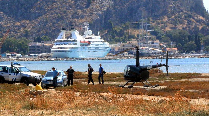 Πήγε για καφέ στο Ναύπλιο με... ελικόπτερο