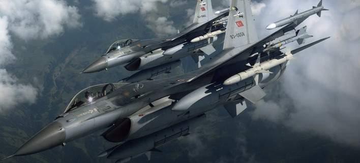 Τουρκικά μαχητικά βομβάρδισαν 12 στόχους βόρεια του Ιράκ