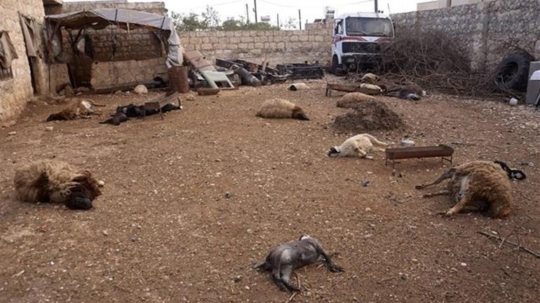 Βόμβες με χλώριο κατηγορείται πως έριξε στο Χαλέπι ο στρατός του Ασαντ
