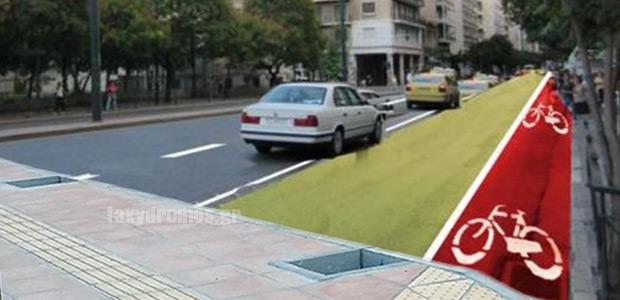 Νέοι δρόμοι ήπιας κυκλοφορίας, πεζοδρόμια και ποδηλατόδρομοι