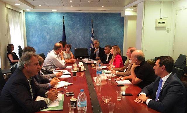 Σύσκεψη στο Υπ. Εσωτερικών για την αποζημίωση των πληγέντων από την κακοκαιρία στα Τρίκαλα