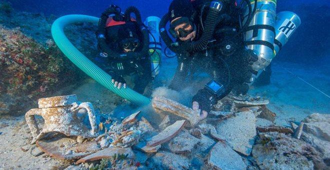 Εντόπισαν ανθρώπινο σκελετό στο Ναυάγιο των Αντικυθήρων