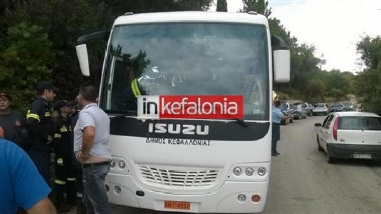 Θάνατος στο τιμόνι για οδηγό λεωφορείου