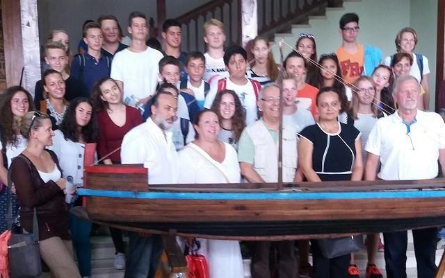 Μαθητές από τη Νυρεμβέργη στο Δημαρχείο Βόλου