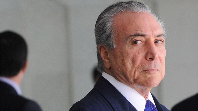 Βραζιλία: Έρευνα κατά του προέδρου Τέμερ για μίζες