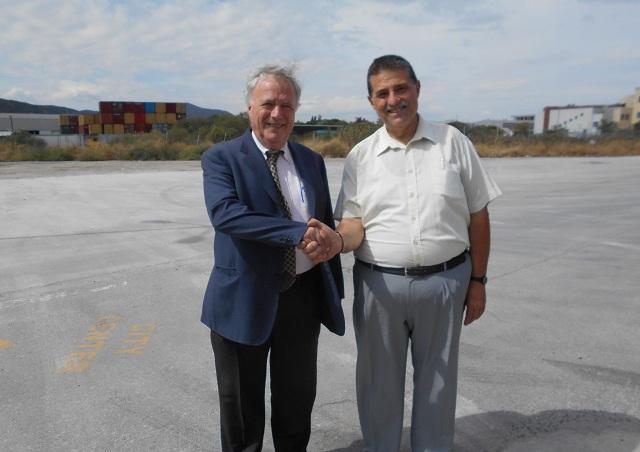 Συνάντηση Στ. Παπαϊωάννου με τον πρόεδρο της Ενωσης Εφοπλιστών Κρουαζιερόπλοιων