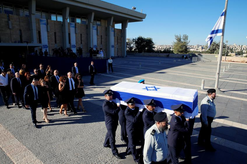 Πλήθος ηγετών αποχαιρετά τον Σιμόν Πέρες