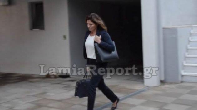 Η πρώτη μέρα της συζύγου του Πρωθυπουργού στο Πανεπιστήμιο Θεσσαλίας