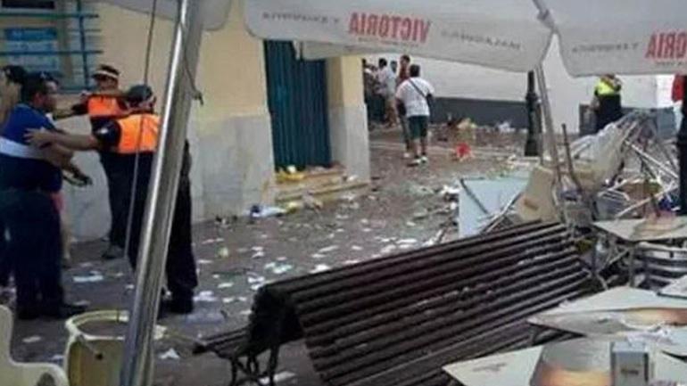 Ισπανία: Έκρηξη φιάλης υγραερίου με 77 τραυματίες στη Μάλαγα