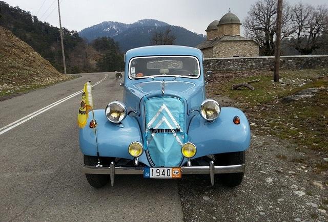 Κέντρο περιηγητικής και vintage αυτοκίνησης τα Τρίκαλα