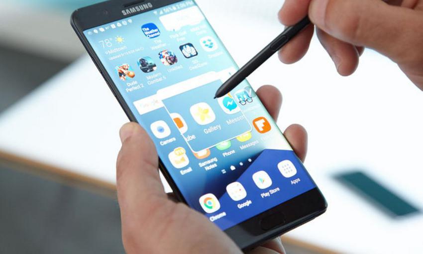 Ανάφλεξη Samsung Galaxy Note 7 σε αεροπλάνο