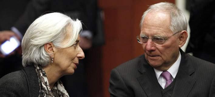 Καβγάς Σόιμπλε-Λαγκάρντ για την βιωσιμότητα του ελληνικού χρέους