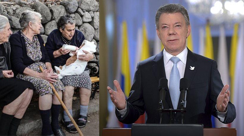 Το Νόμπελ Ειρήνης στον πρόεδρο της Κολομβίας. Εχασαν οι Ελληνες νησιώτες