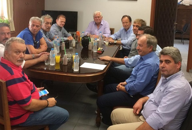Επίσκεψη κλιμακίου της ΝΟ.Δ.Ε. στον Αγροτικό Συνεταιρισμό Βόλου