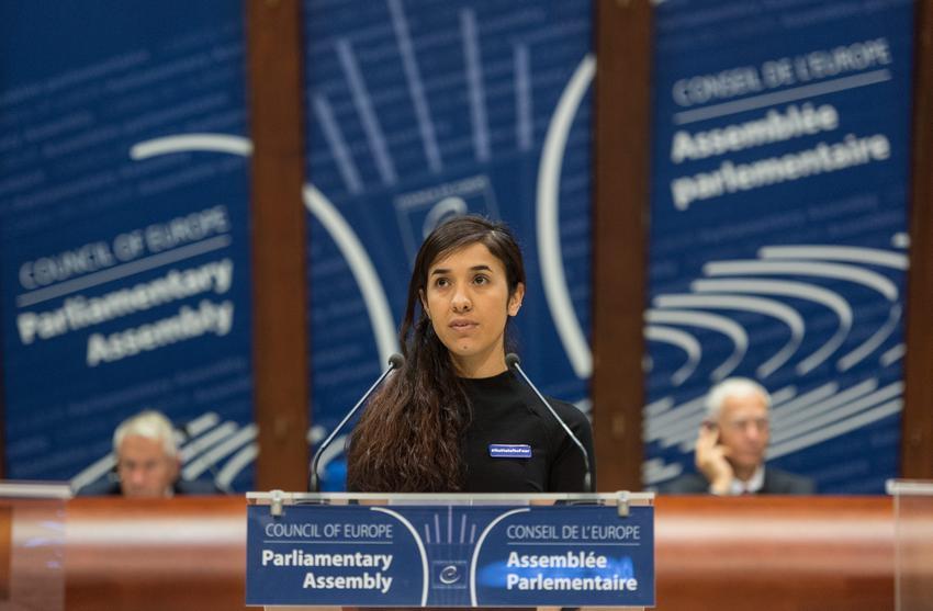 Στη Νάντια Μουράντ το βραβείο του Συμβουλίου της Ευρώπης