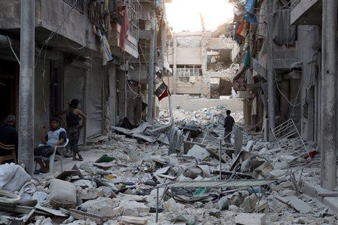 Το Χαλέπι βομβαρδίζεται ανηλεώς πριν τη συνάντηση της Λωζάννης