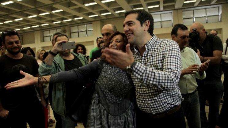 Με 93,54% επανεξελέγη ο Αλέξης Τσίπρας