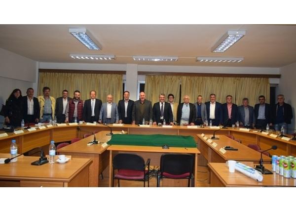 Συνάντηση της Διοίκησης και μελών της ΔΕΠΑΝ στο Βελεστίνο